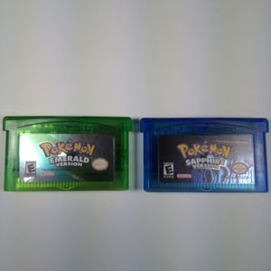 Pokemon Emerald and Sapphire Versions